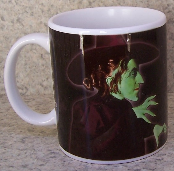 Wizard of Oz entertainment coffee mug thumbnail